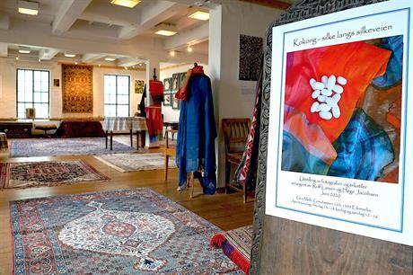Utstilling om silke sommeren 2020