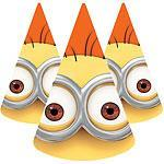 Partyhatter Minions 6stk