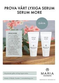 Giveaway Serum More 5 ml - handla för 100kr. En per kund.