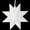 Julstjärna Classic Star 28 cm vit star Trading