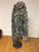 Pälsboa lång Inolea nr.5 grå ca.180 cm