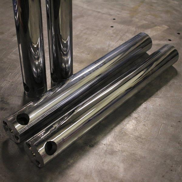 FORK LOWERS 41MM 49-77 CHROME