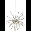Dekoration Firework 64lights silver ute Star Tr.