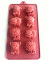 Silikonform sjokoladefigurer 6