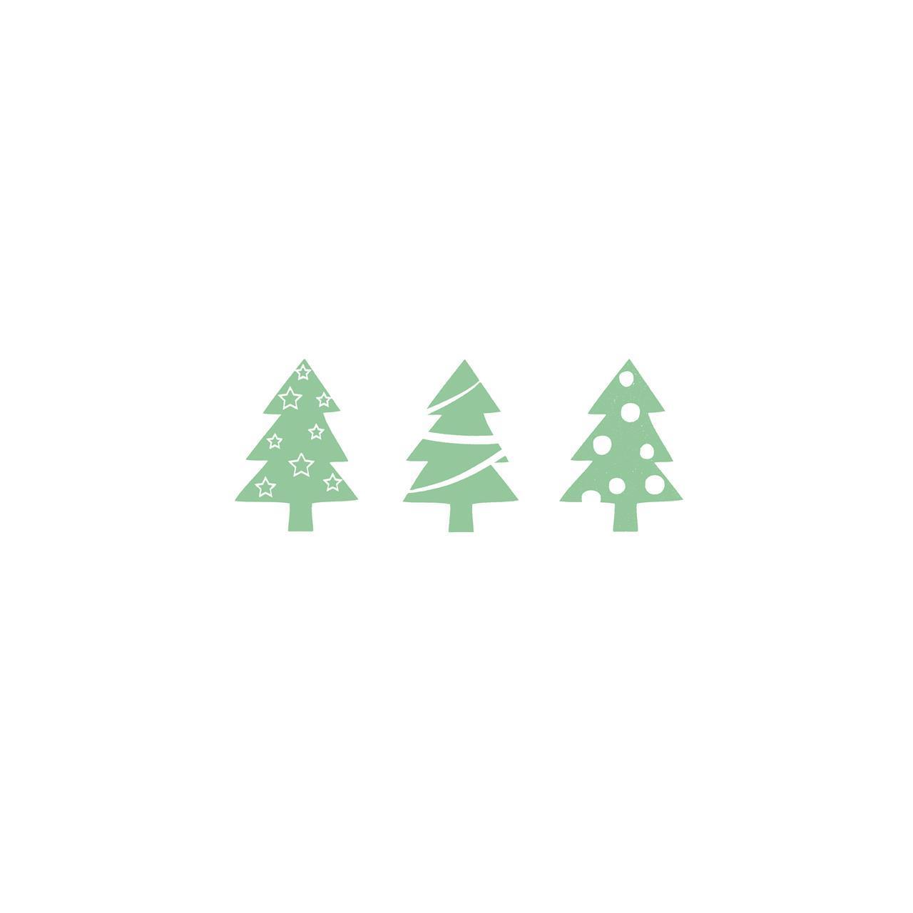 1210132, tre juletre, grønn