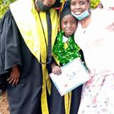 Rebecca and her mother together with headmaster Beatrice