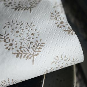 House Doctor Napkins, Bouquet, Light brown