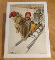 Spelkort Kerstis slädfärd