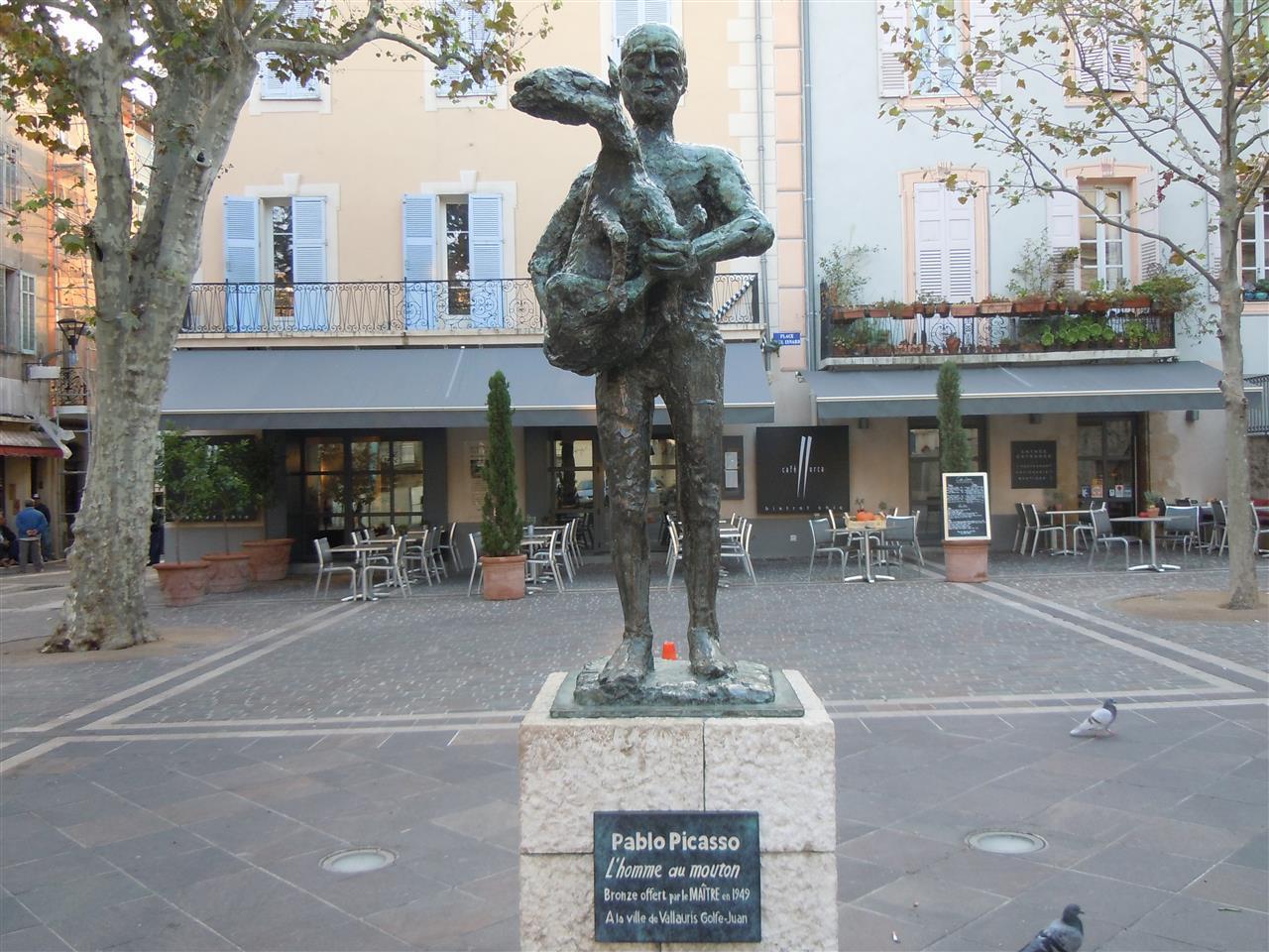Picasso i Vallauris