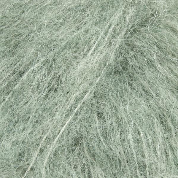 Brushed Alpaca Silk Salvie grønn