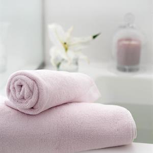 Balmuir Lugano Towel, 70 x 140 cm, Crystal Pink