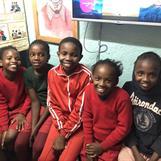 Five wonderful warm girls