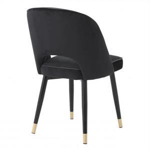 Eichholtz Dining Chair Cliff Black,  Set of 2