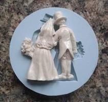 Silikonform Bryllup 1
