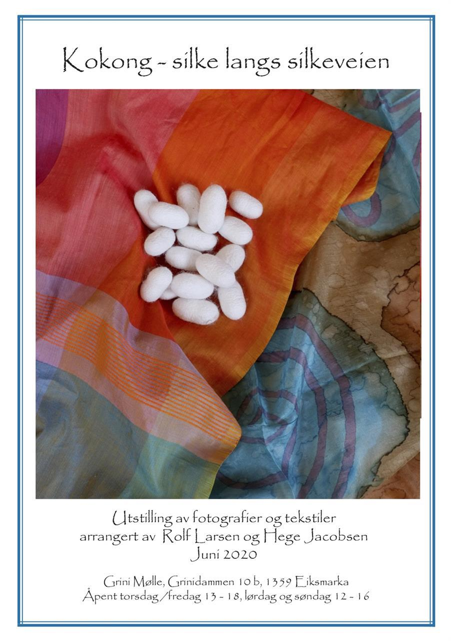 Hefte Kokong - silke langs silkeveien