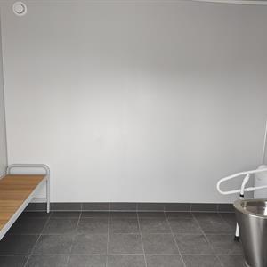Offentlig toalett container