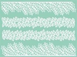 Lace Mønstermatte TMD07