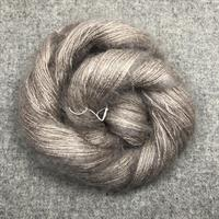 Silk Mohair Gråbeige