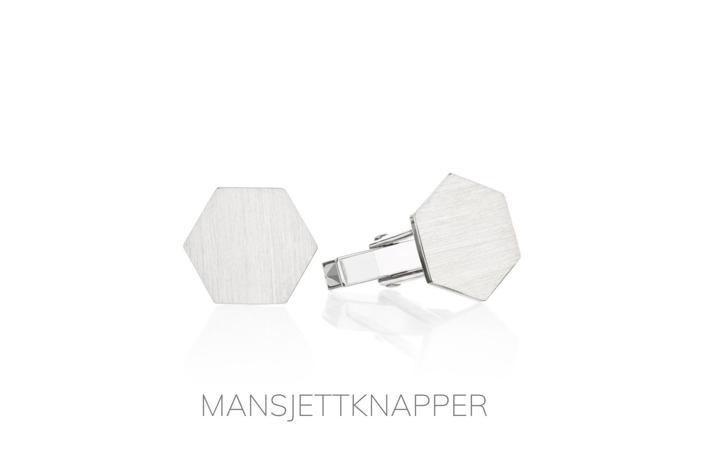 MANSJETTKNAPPER / Juveler MSJ