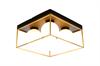 Plafond Astro svart/guld Aneta