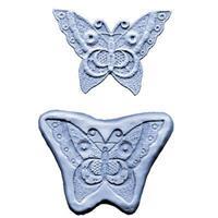 Silikonform Lace CK Butterfly stor