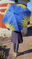Paraply Karins Solros