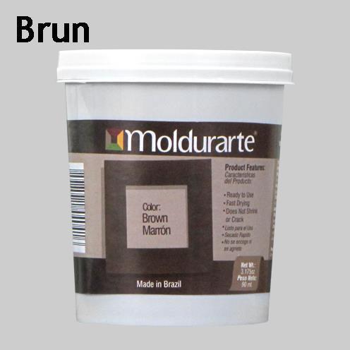 Moldurarte, rammekitt, brun, brown