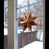 Julstjärna Betlehem koppar 28 cm Star Trading