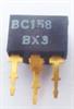 BC158A Si-P, Uni, 30V, 0,1A, 0,3W, 130M brukt