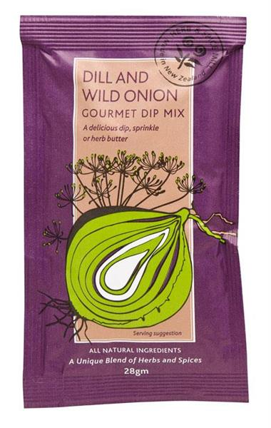 Dill and Wild Onion Dip 28g