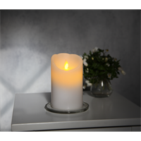 Batteriljus led candle glim wax 12.5cm Star Tradin