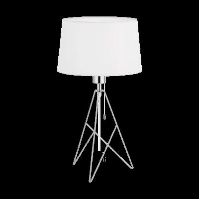 Bordslampa Camporale vit/krom Eglo