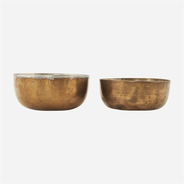 House Doctor Bowl, Brass finish