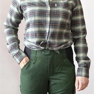 Arbetsskjorta Grön, strl M