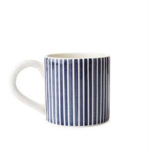 Lexington Blue Striped Earthenware Mug