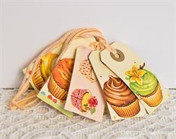 Tags, 5-pack Cup-cakes