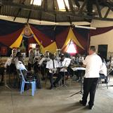 Rehearsal with Kibera Citadel Band