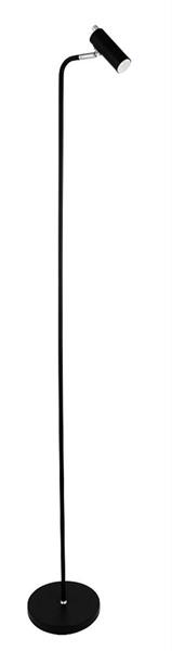 Golvlampa mini GU10 svart 1-arm Oriva
