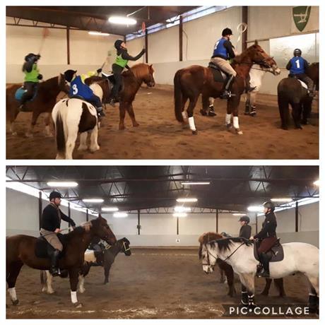 Polocrosse-treninger