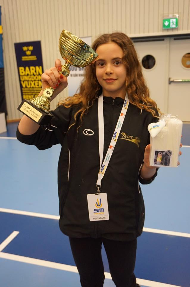 Nathalie Aranki -SM guld Skellefteå 2018