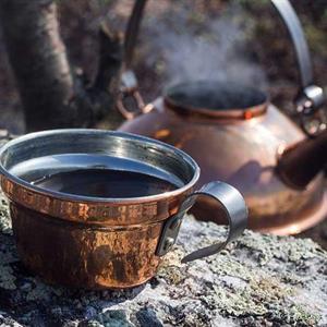 Jägarkaffepanna med mugg