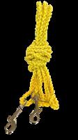 3m bånd gul m/liten krok