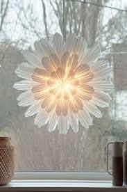 Julstjärna Snöblomma 68 cm vit Watt och Veke