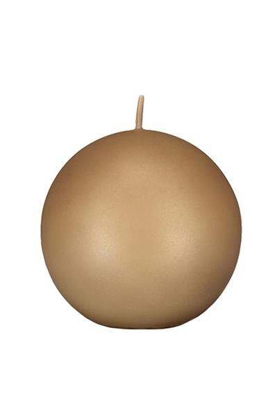 Balmuir Velvet Ball Candle, 10 cm, Almond