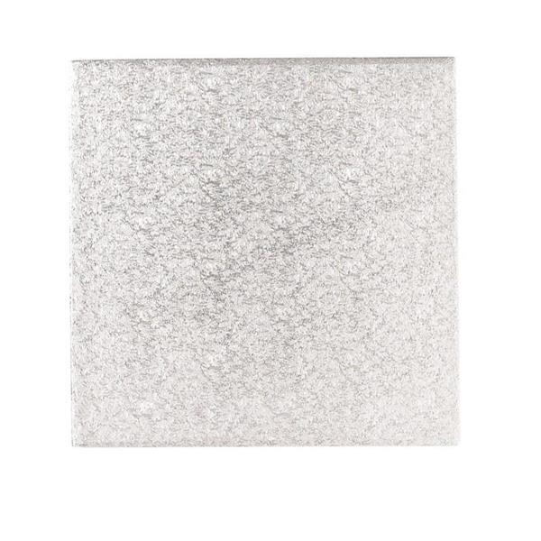 Cake Board KVADRAT Sølv 35,5, 12mm