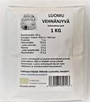 Vehnänjyvä 1 kg, luomu