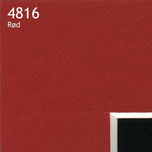 4816 rød