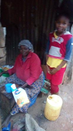 Faith and her Grandma