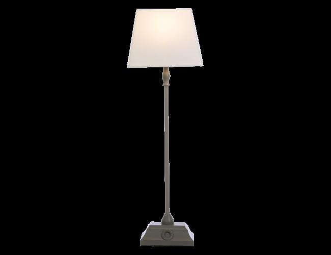 Bordslampa Kylie krom/vit Aneta