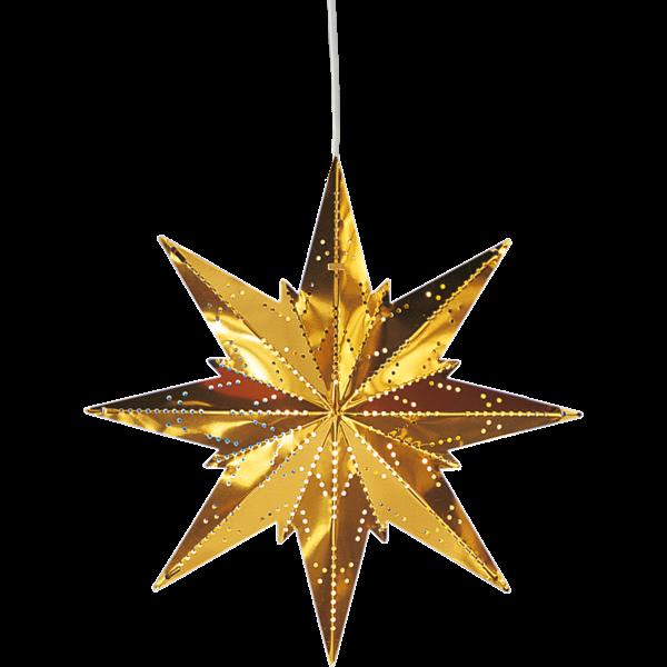 Julstjärna Mini  mässing Star Trading